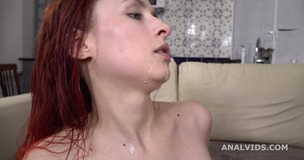 My first DP, Rayana Bang first time DP with Balls Deep Anal, Gapes and Cum in Mouth GL267 screenshot