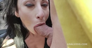 Italian Milf Federica Ferrari gets Marco Nero with Balls Deep Anal and Messy cumshot GL314 screenshot