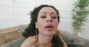 Black Roses Stacy Bloom Vs 2 BBC with Balls Deep Anal, DAP, Farts, Buttrose and Creampie Swallow GIO1700 screenshot