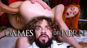 GameOfPorn #4: Lady Sansa ASSFUCKED by the King of the North JMC025 screenshot