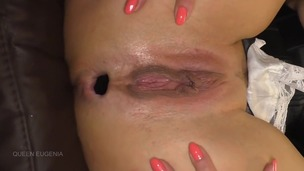 Queen Eugenia wants the whole Anal Plug inside her ass QE048 screenshot