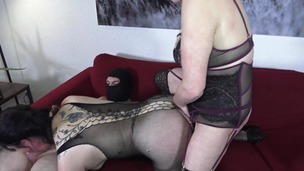 Extreme domination, fisting, double fisting, anal fuck, deep throat, prolapse and squirting for Adeline and Pipa AL023 screenshot